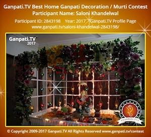 Saloni Khandelwal Home Ganpati Picture